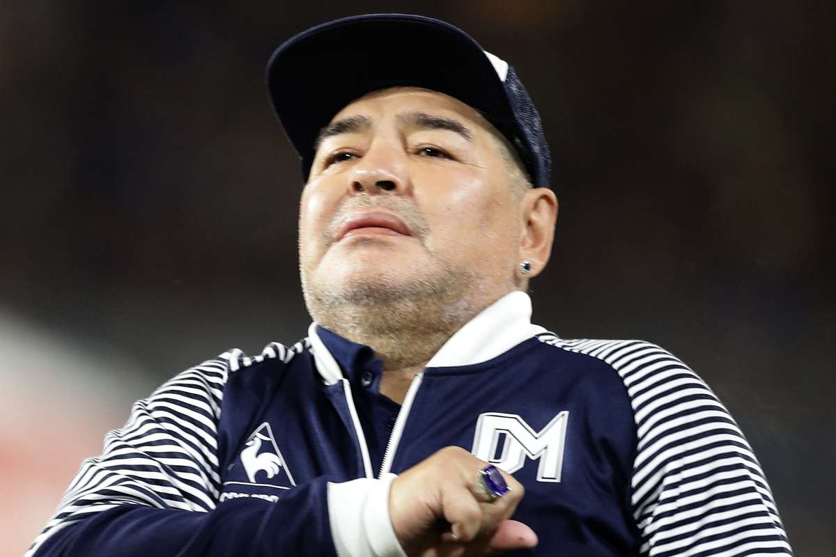Soccer Legend, Diego Maradona Kicks The Bucket