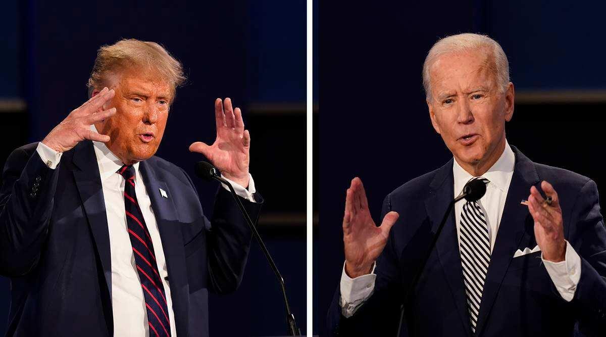 Trump, Biden Eye Electoral College In 12 Battleground States