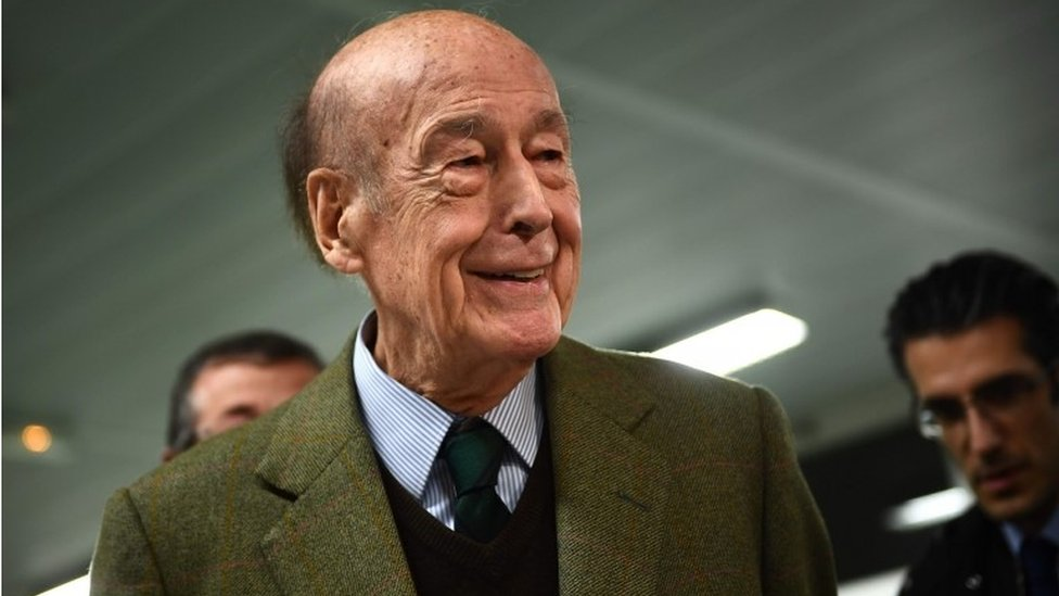 Ex-French President, Giscard d'Estaing Dies Of COVID-19