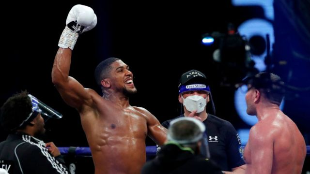 Anthony Joshua Retains Titles After Knockout Win Over Pulev