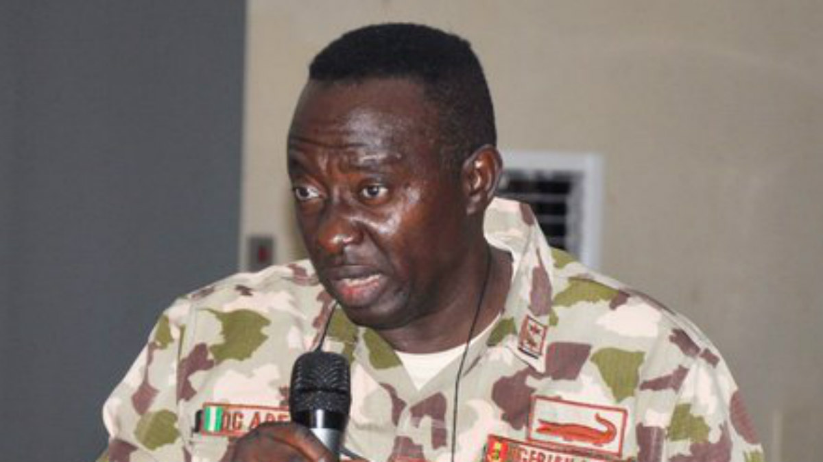 Whistleblower General Adeniyi Demoted By Court Martial