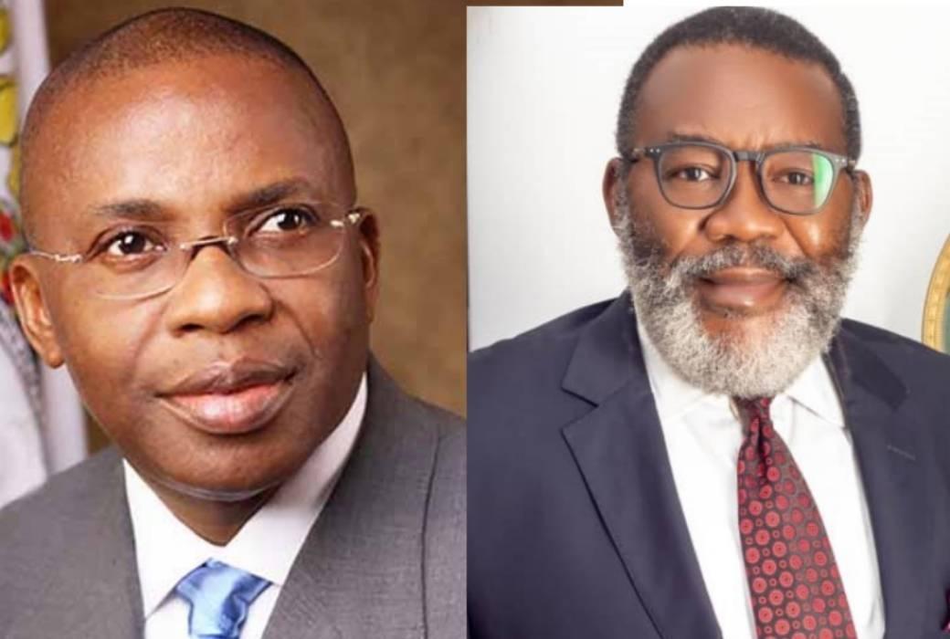 Ikedi Ohakim Felicitates With Barr. Willie Amadi