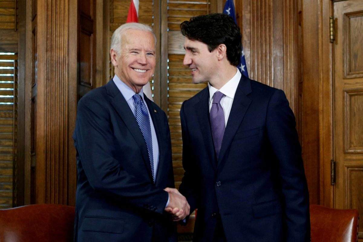 Biden Speaks With Trudeau In first Call With Foreign Leader