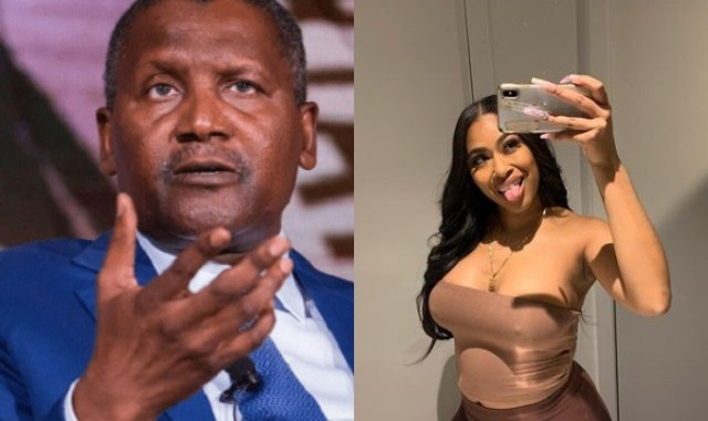 Dangote Sued Me For Declining His Silence Money – Ex-lover