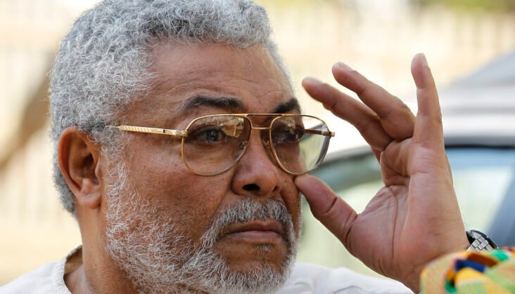 Ghanaians Honour Jerry Rawlings Ahead Of Burial