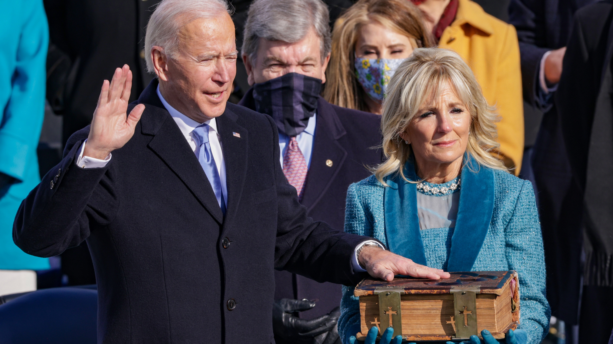 Joe Biden Sworn-In As 46th US President