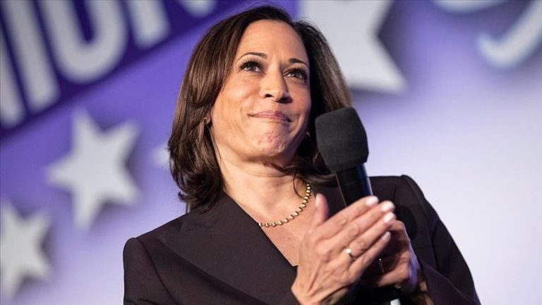 Kamala Harris Resigns From U.S. Senate