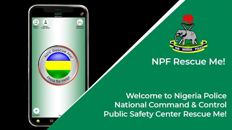 Nigerian Police Launch 'Rescue Me App'