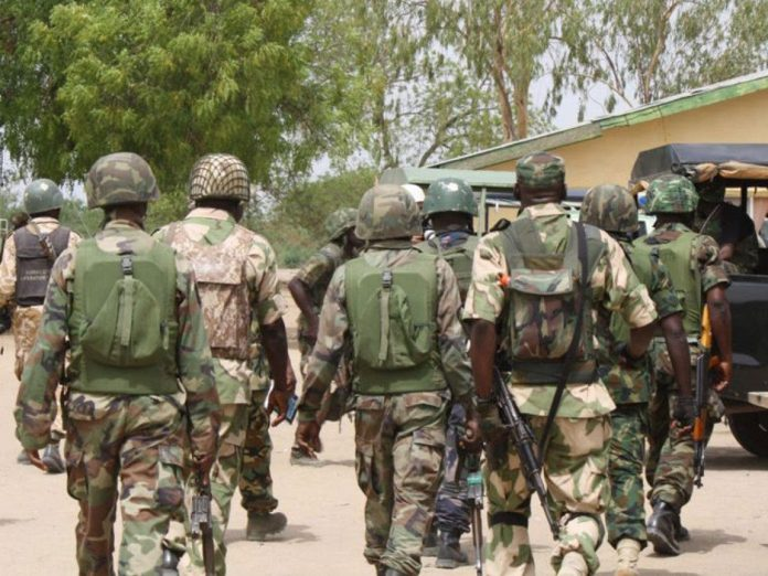 Army Declares 101 Soldiers Wanted, Freezes Bank Accounts
