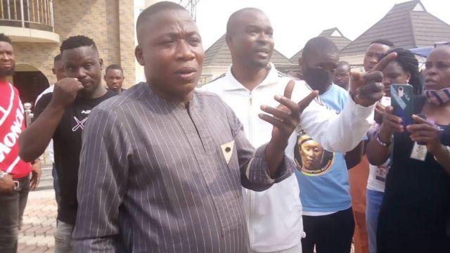 Nigerian Military Dismisses Sunday Igboho's Spy Claim