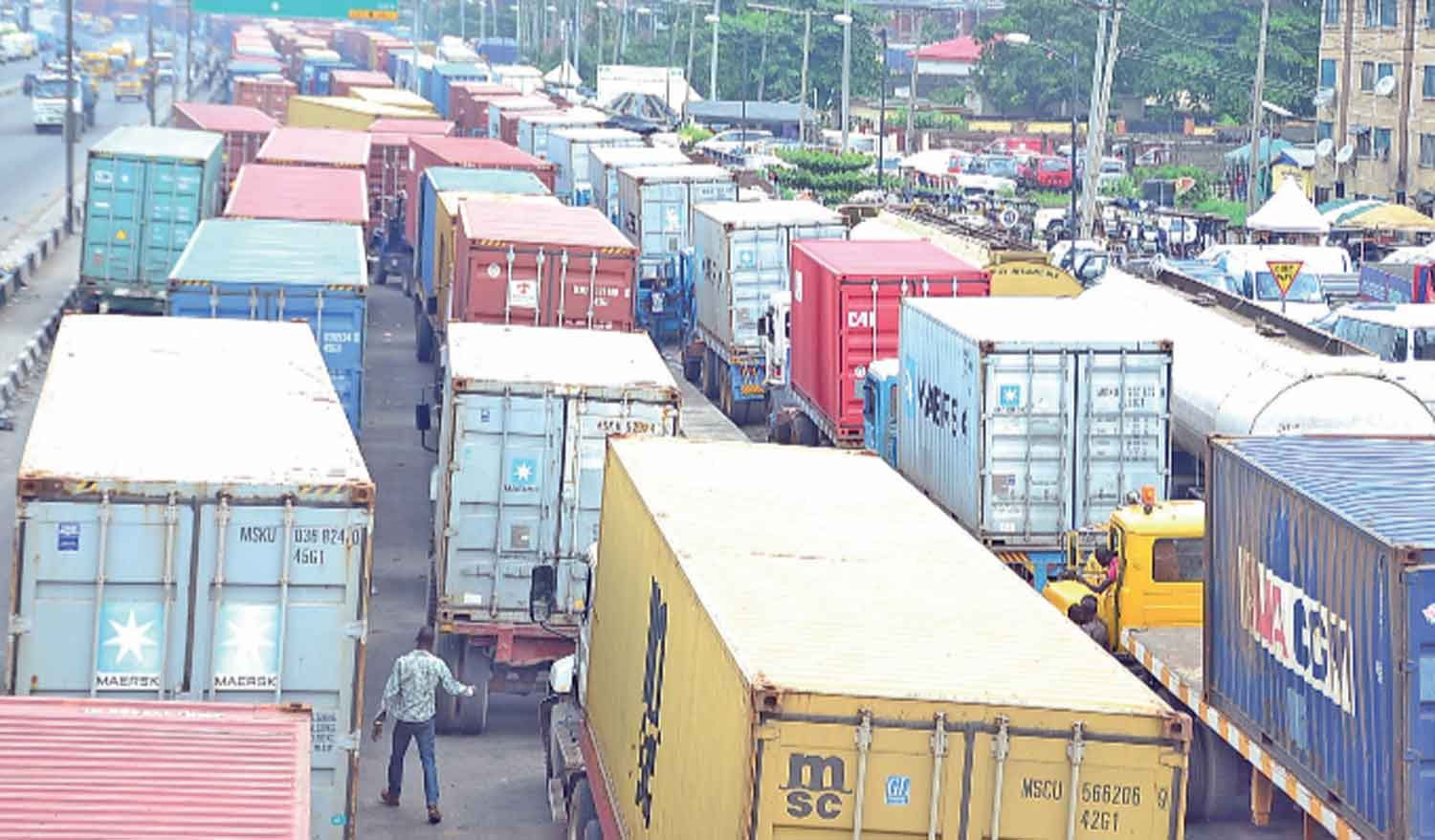 Apapa Gridlock LASG, NPA Threatens To Impound Trucks If