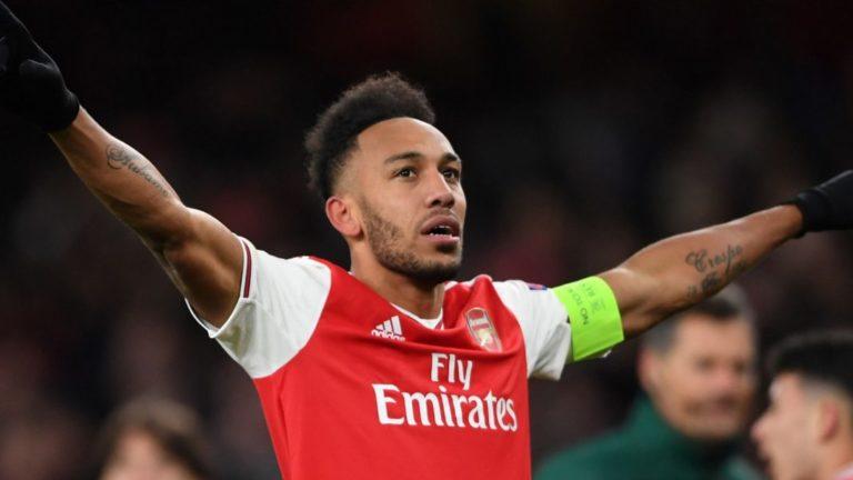 Aubameyang's Late Goal Sends Arsenal To UEL Last 16