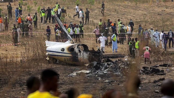 Nigerian Air Force Confirms 7 Deaths In Abuja Plane Crash