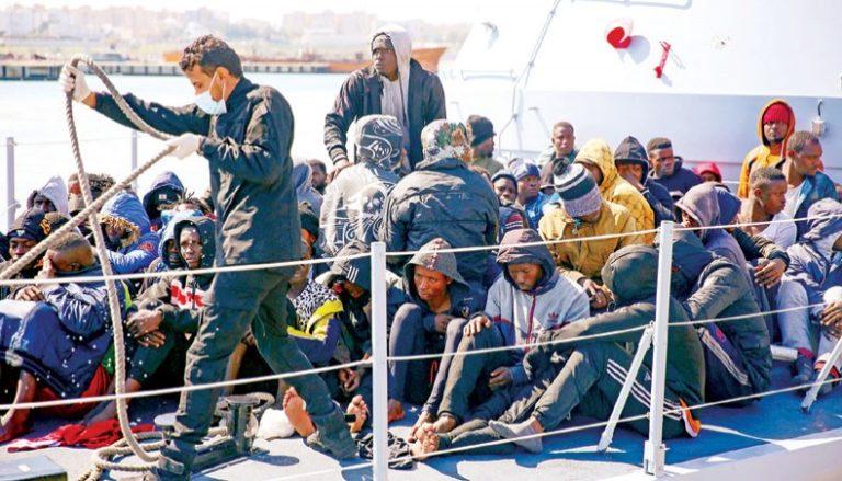 Over 100 Migrants Rescued Off Libya, 20 Still Missing