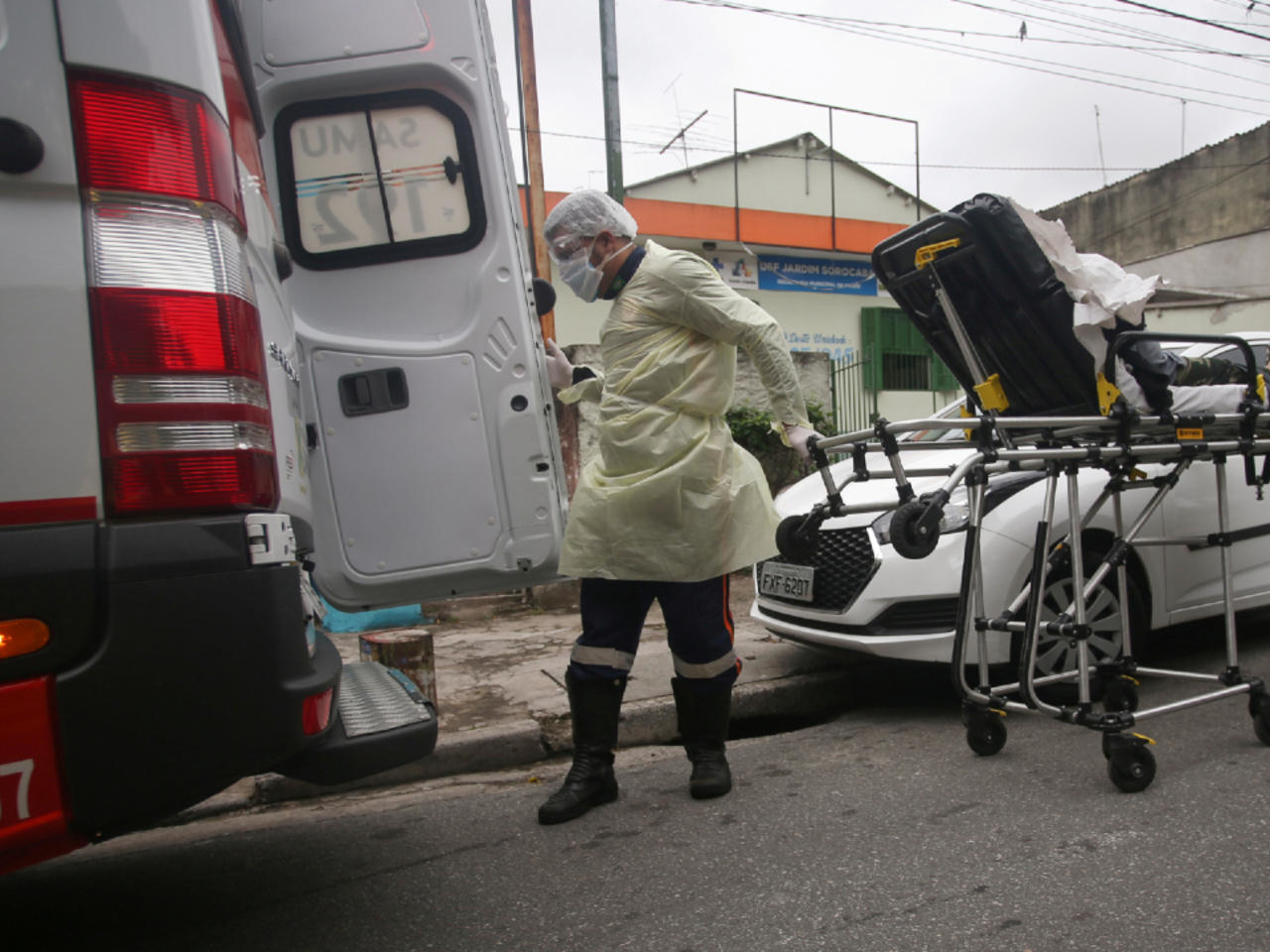 Brazil Reports New Single-Day Record For COVID Deaths