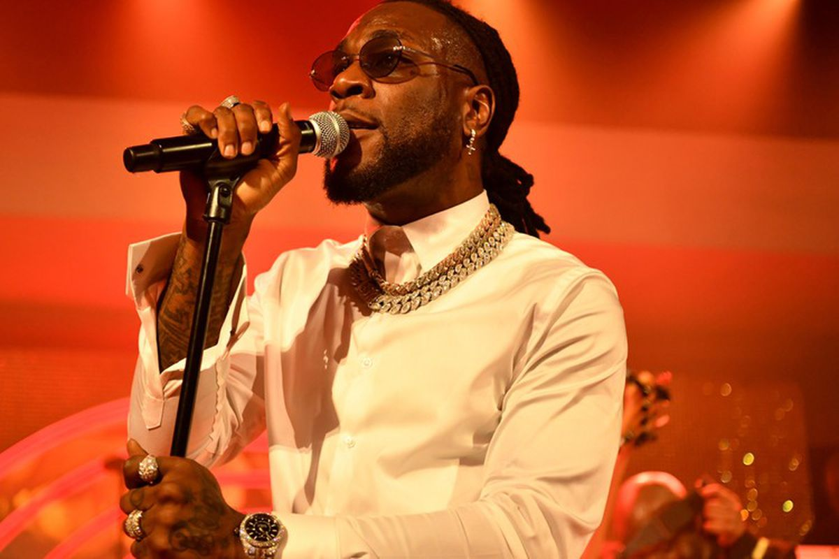 Burna Boy's Twice As Tall Album Wins Him A Grammy Award