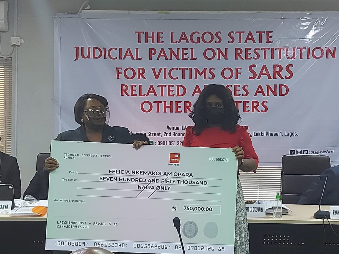 #EndSARS Lagos Panel Awards ₦16.25M To Four Petitioners