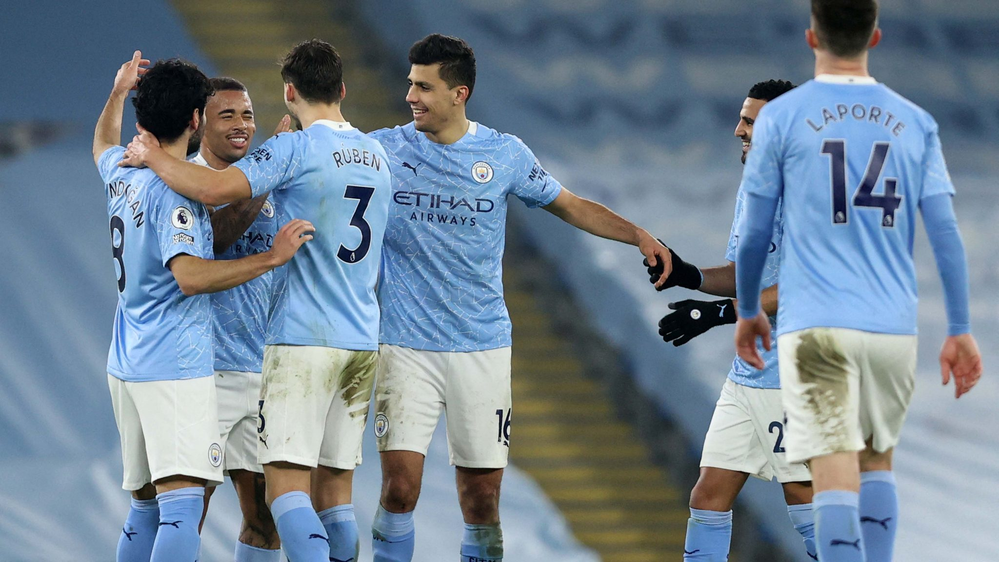 Man City Equal Arsenal's Premier League Record In Wolves Win