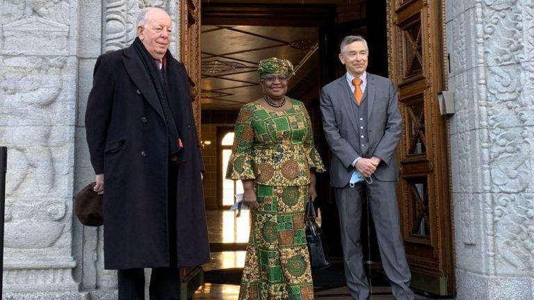 WTO: Okonjo-Iweala RWTO: Okonjo-Iweala Resumes As DGesumes As DG