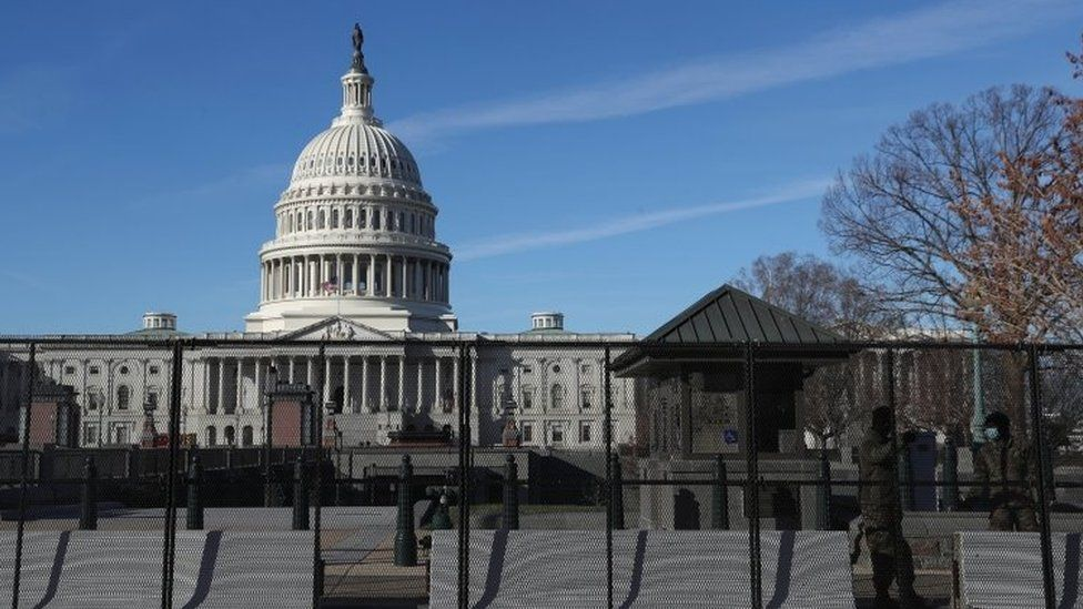 US Senate Amidst Tight Security After New Extremist Threat
