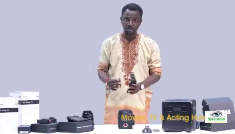 How To Mount An 8K Epic Camera By Oyebanji Omoba