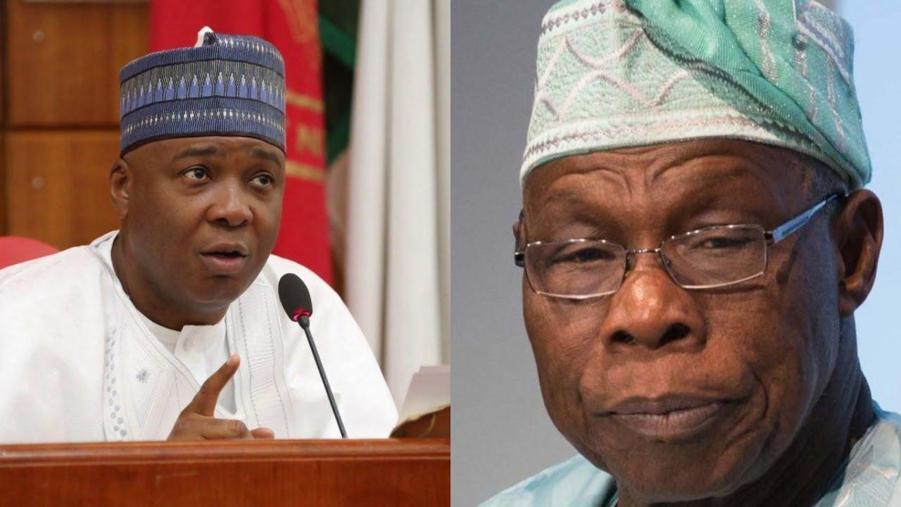 Obasanjo, Saraki Meet Behind Closed-Doors