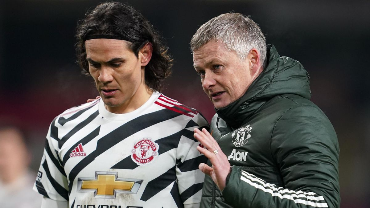 Cavani's Man Utd Future Still Uncertain - Solskjaer