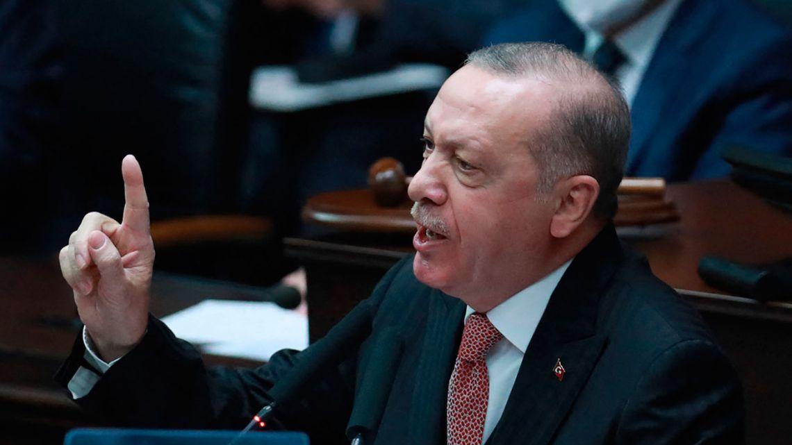 Erdogan Slams Biden Over Recognition Of Armenian 'Genocide'