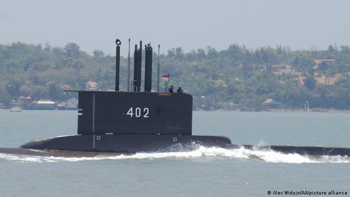 Navy Searching For Missing Submarine In Indonesia