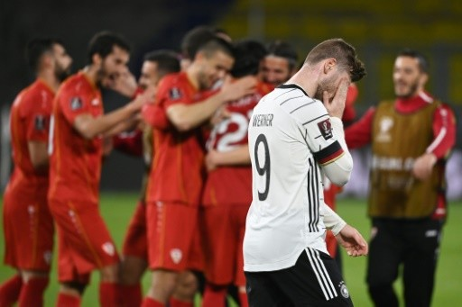 North Macedonia Shocks Germany In WC Qualifier