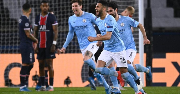 UCL Manchester City Come From Behind To Beat PSG