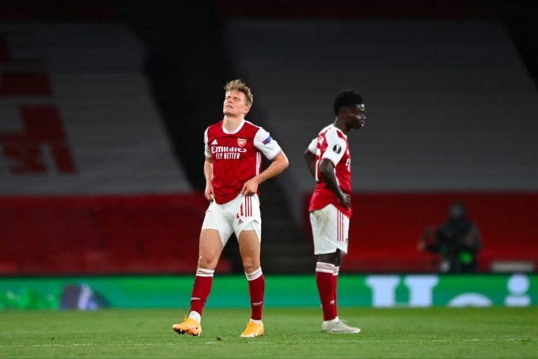 Arsenal Crash Out Of Europa League