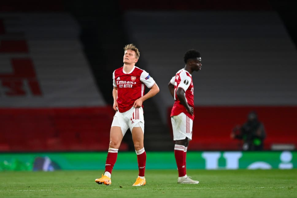 Arsenal Crash Out Of Europa League