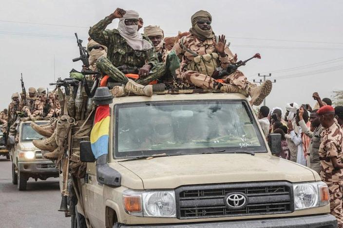 Chad Claims Major Victory Over Rebels After President's Death