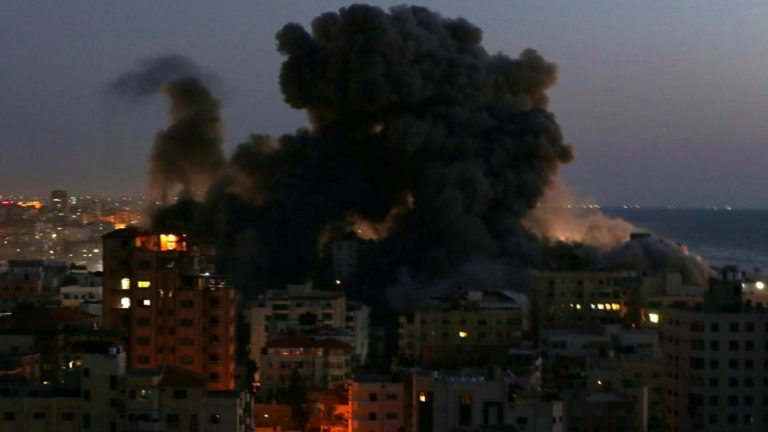Hamas Bombards Jerusalem, Tel Aviv With 1,500 Rockets