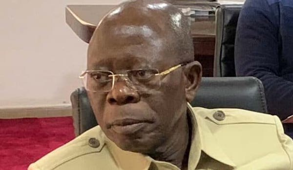 I Would Have Been An Ex-Convict But.. - Oshiomhole