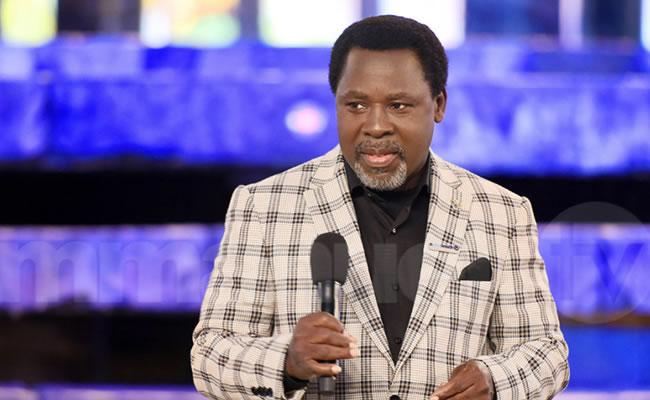 Insecurity Nigeria Won't Break Up, TB Joshua Assures