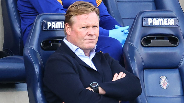 LaLiga Barcelona Manager, Koeman Gets 2-Match Ban