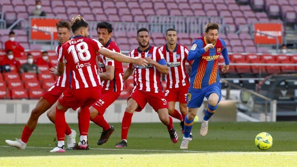 Laliga: Advantage Madrid As Barca, Atletico Settle For Draw