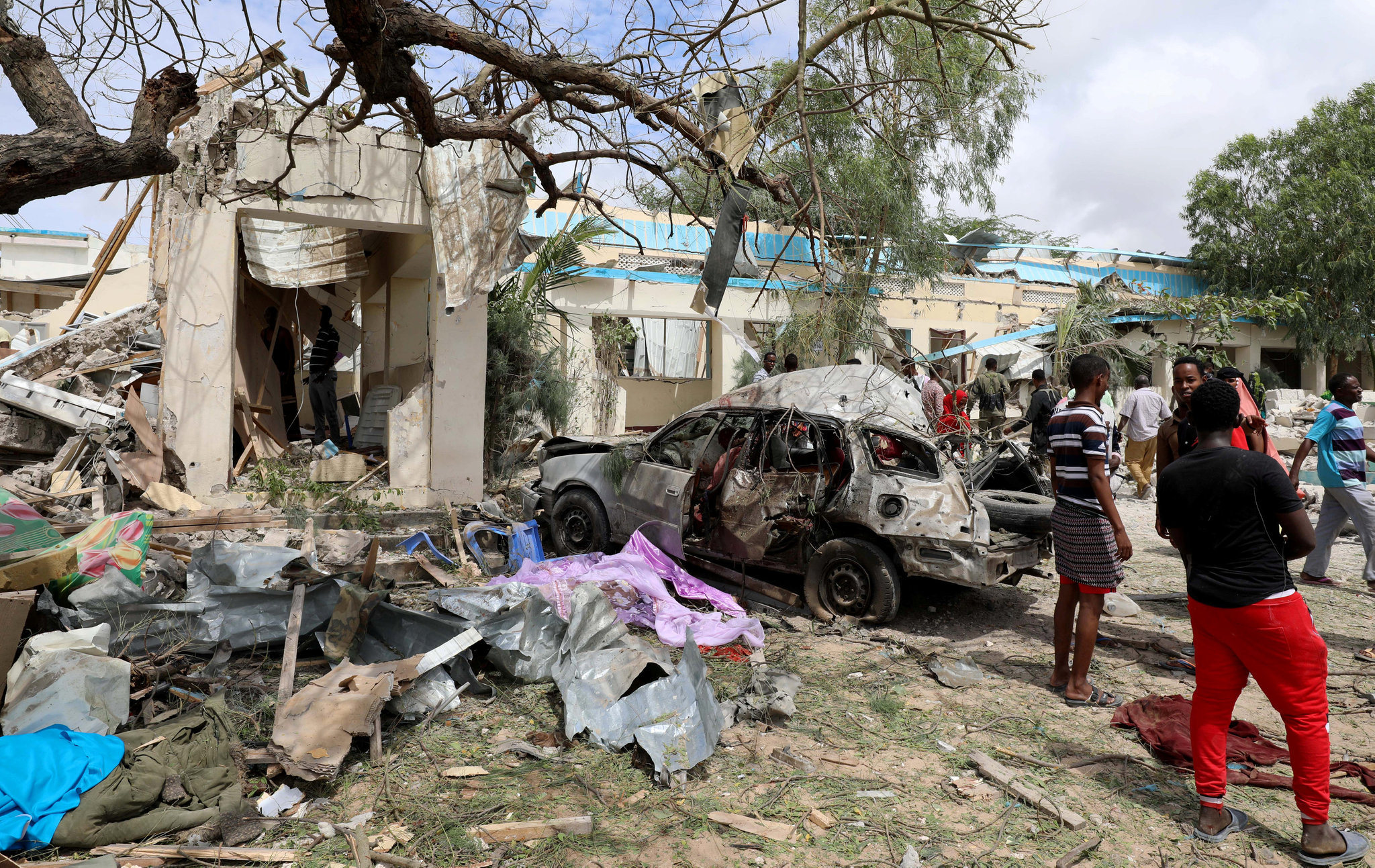Many Killed In Deadly Suicide Attack In Somali Capital