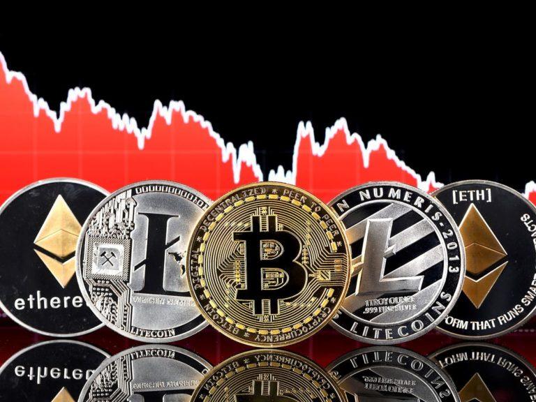 Mixed Feelings As Cryptocurrencies Crash, Bitcoin Falls 28%