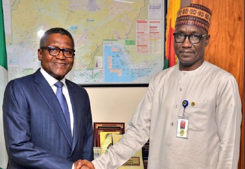 NNPC Seeks To Acquire 20% Stake In Dangote Refinery