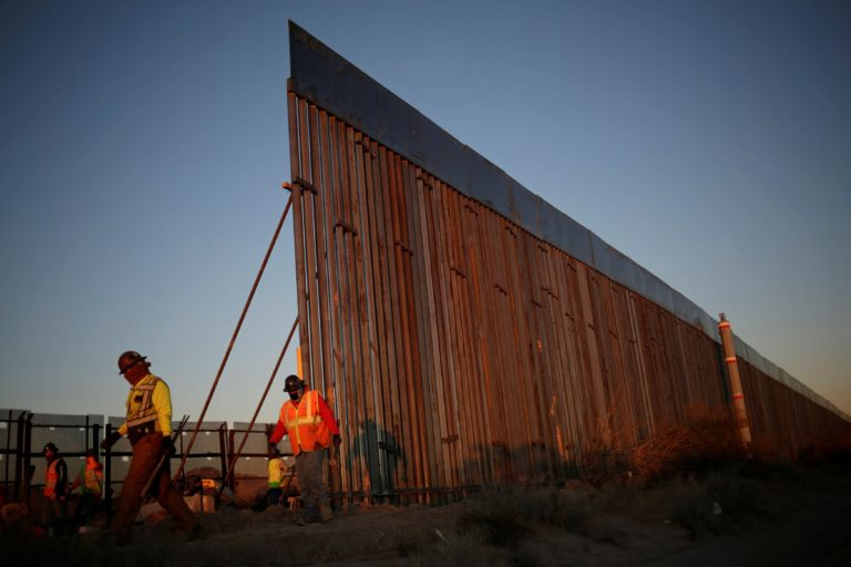 Pentagon Suspends Building Of Trump's Border Wall