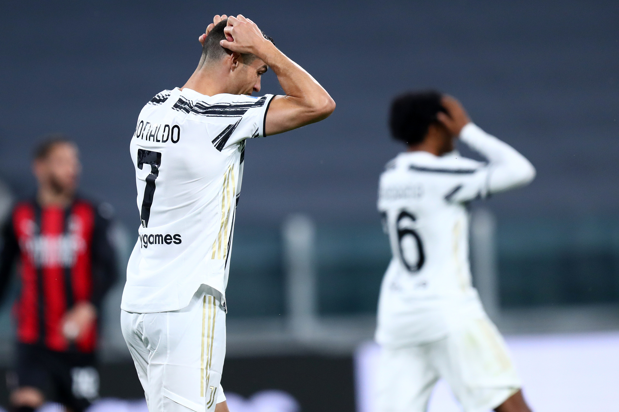 Serie A AC Milan Knock Juventus Out Of Top Four