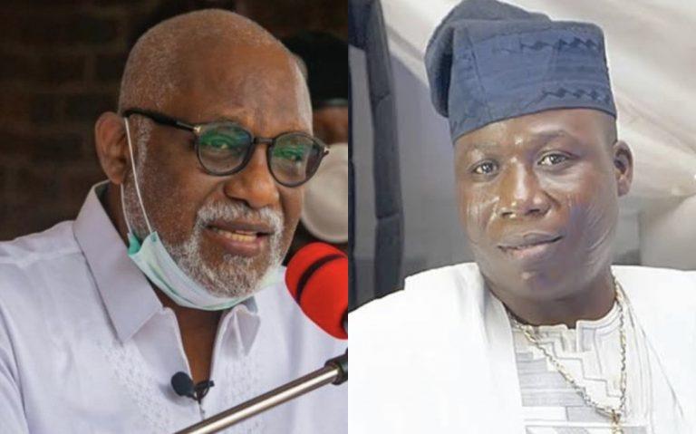 'You're On Your Own' Akeredolu Tells Igboho, Others