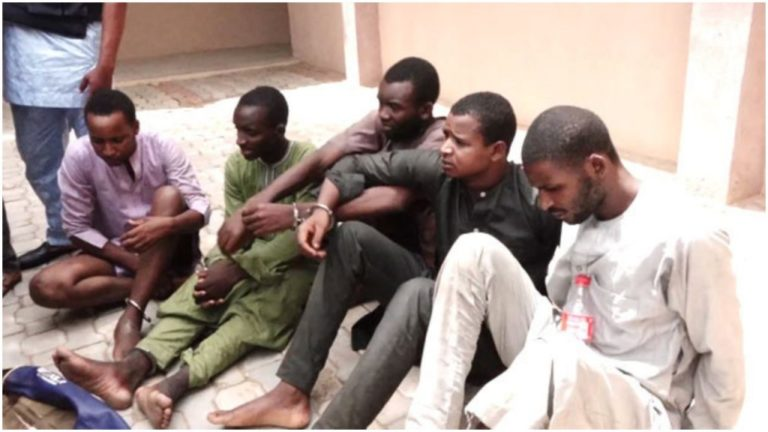 Four Foreign Bandits Operating In Northwest Nigeria Nabbed