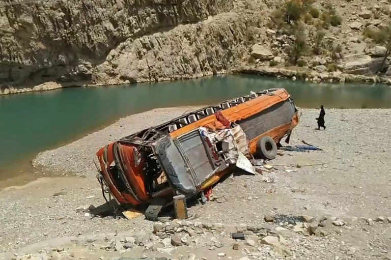 18 Pilgrims Killed As Bus Plunges Into Ravine In Pakistan