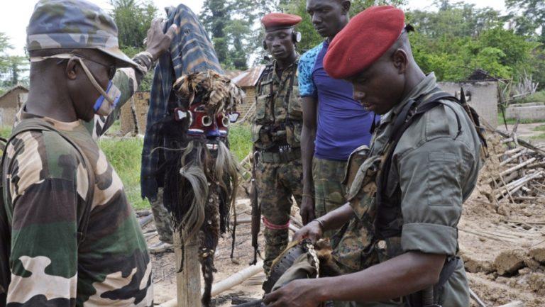 3 Soldiers Killed In Ivory Coast Ambush