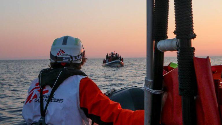 410 Migrants Rescued From Mediterranean Sea