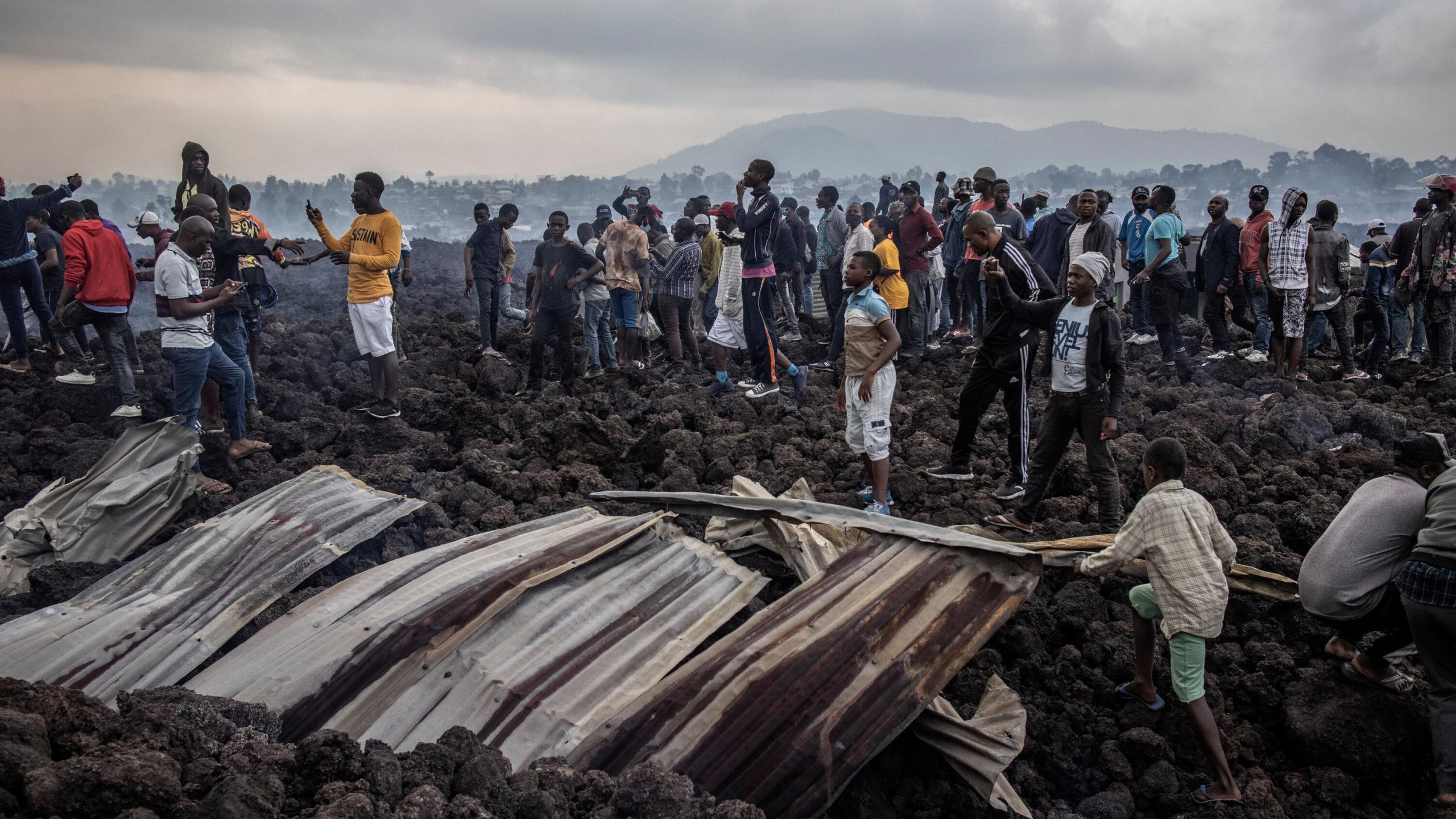 Congolese Inhabitants Defy Warnings, Return To Volcano City